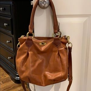 J. Crew leather satchel